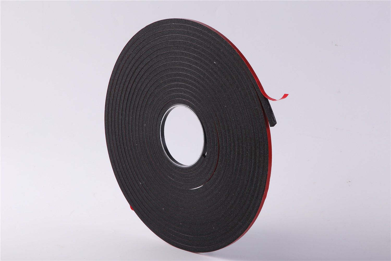 High density double-sided red film PVC foam tape
