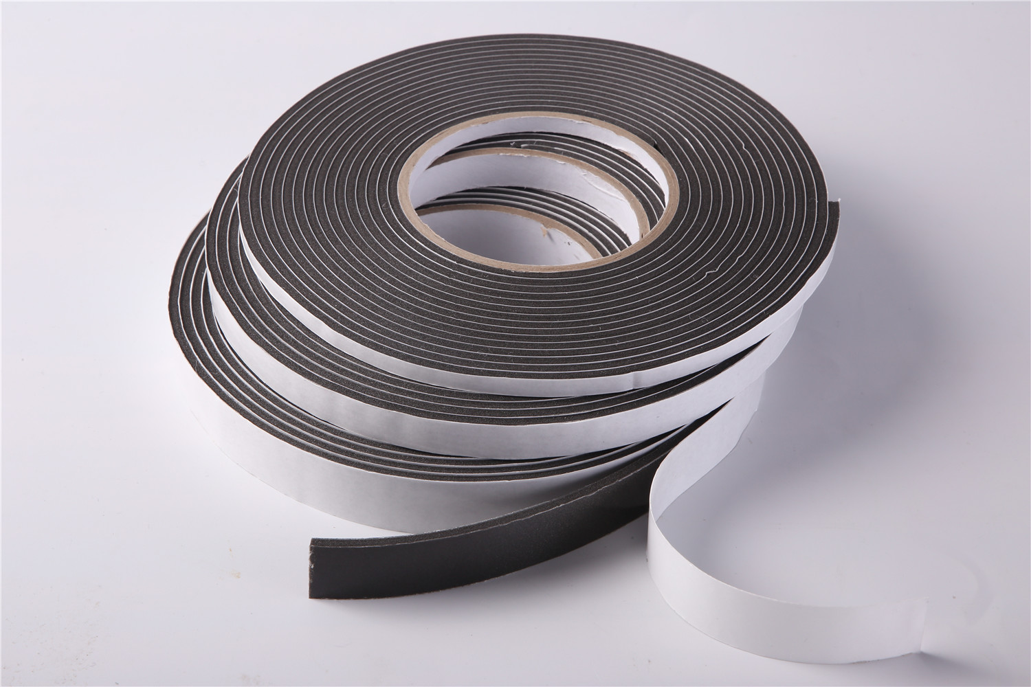 PVC soft black single side door and window sealing strip