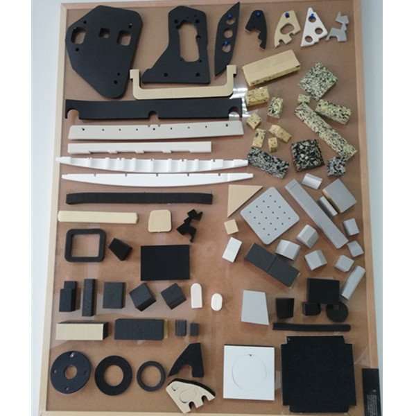 Rubber foam die cutting block
